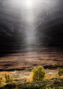 Et lys i høstmørket