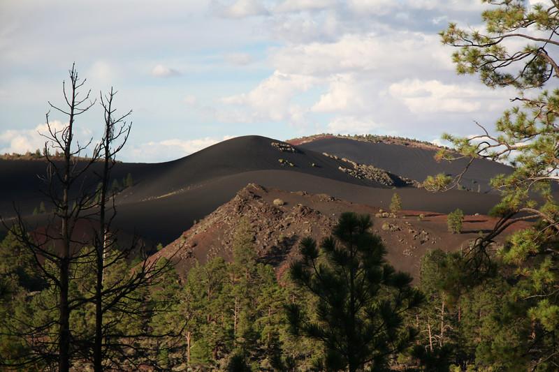 The basalt gravel makes for some very smooth hillsides.