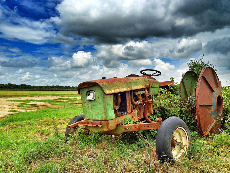 The Baby Tractor - Rick's Pride and Joy - Tribbett, Mississippi