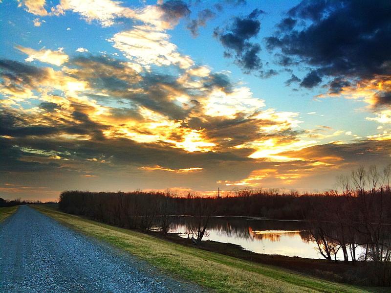 "Mississippi River Levee ""Borrow"" Pit - Greenville, Mississippi"