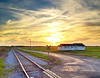Easter Eve Sunset - Dunleith, Mississippi - April 7, 2012