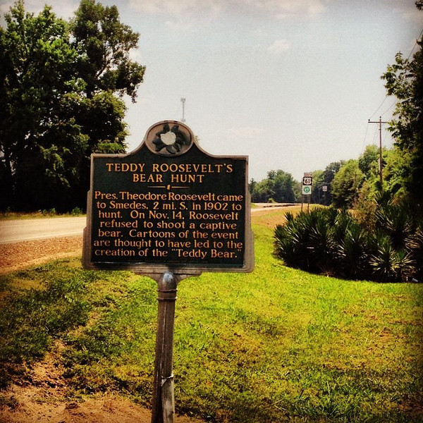 """The creation of the """"Teddy"""" bear - Onward, Mississippi - Highway 61 South"""