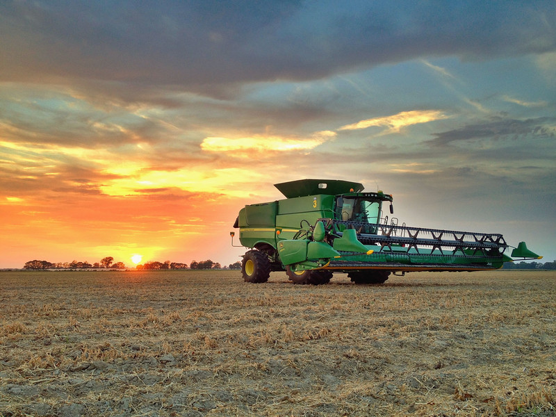 Harvest Season in the Mississippi Delta has begun - Stoneville, Mississippi