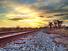 Railroad Tracks - near Baird, Mississippi