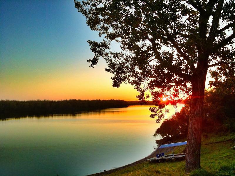 Lake Ferguson Sunset - Greenville, Mississippi