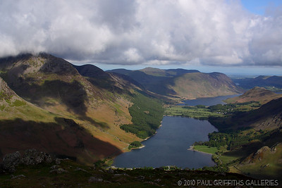 Views from the top of Fleetwith Pike