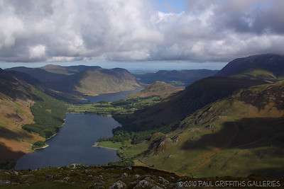 Views from the ascent up Fleetwith Pike
