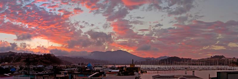 17) Mt Tam Sunset 200405211721