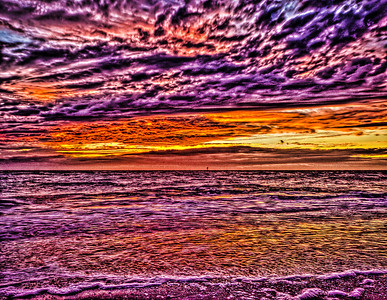 HDR Sunset 10-02-05