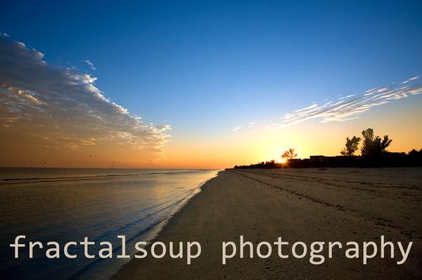 Sunset on Sanibel Island