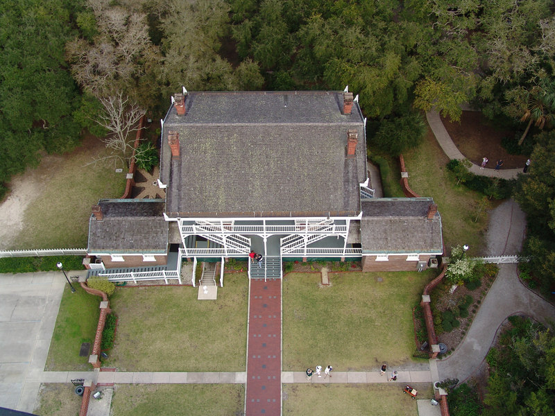 View from the top, St. Augustine Lighthouse
