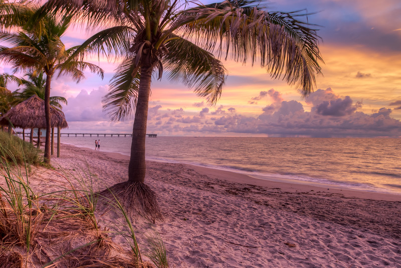 Dani Beach, Florida, Sunrise,