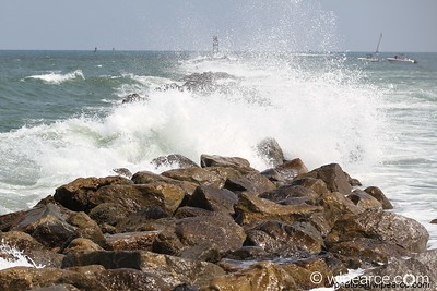 Nor'easter at the Ponce Jetties  Get notifications via: