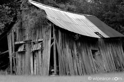Old Florida Barn.  Melrose farm.