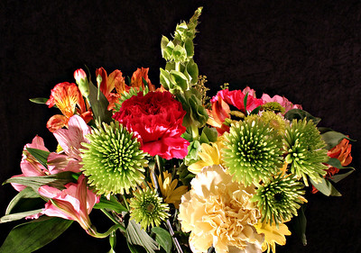 Another bouquet photo taken 01/17/2014