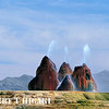 Fly Geyser, Nevada : This is has to be the most psychedelic looking object I have ever photographed. You are out in the Black Rock desert which has very drab, boring terrain until  you see this bright colorful object out of nowhere. You talk about extreme contrast. I think this gallery is complete- you can only take so much pictures of a single object and you can only display so much, too. The Burning Man festival is held very close to this geyser. This is on private property and I did get permission  to photograph the geyser unlike others I know. If you have a chance, try to see it. The geyser looks totally unreal.