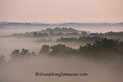 Fog in the Valley, Richland County, Wisconsin