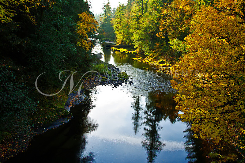 #3323  S. SANTIAM  RIVER SUNSET-  CASCADIA, OR