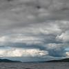 Oslofjorden nordover sett fra Son, 18.6.12
