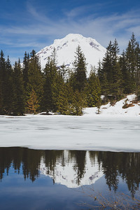 Mirror Lake, Mt Hood, Oregon