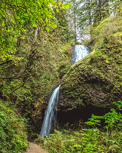 Upper Latourell Falls, Oregon