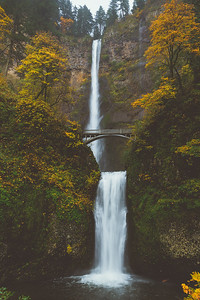 Multnomah Falls, Columbia River Gorge, Oregon