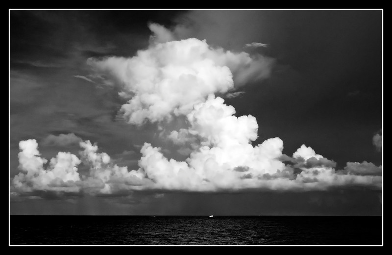 Insignificance!! <br /> <br /> <br /> Atlantic Ocean...Pompano Beach, Florida