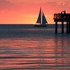 Fort Myers sunsets, Florida : Sunset photos from Fort Myers beach. FLA