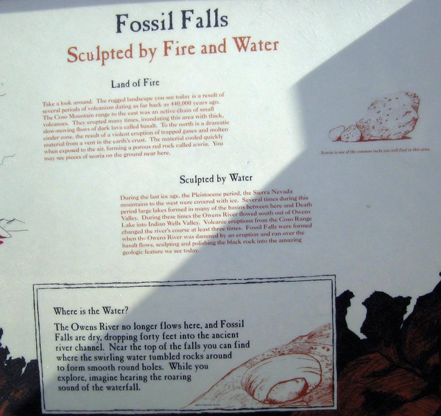 Fossil Falls, 1 March 2007.