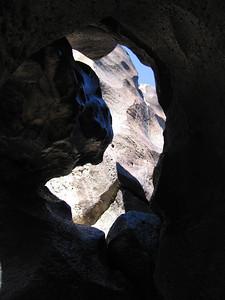 Fossil Falls, 1 March 2007.