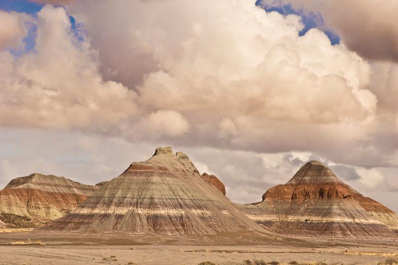 The Painted Desert, Arizona.