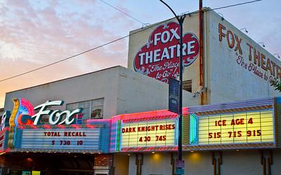 Fox Taft Exterior sign_9521