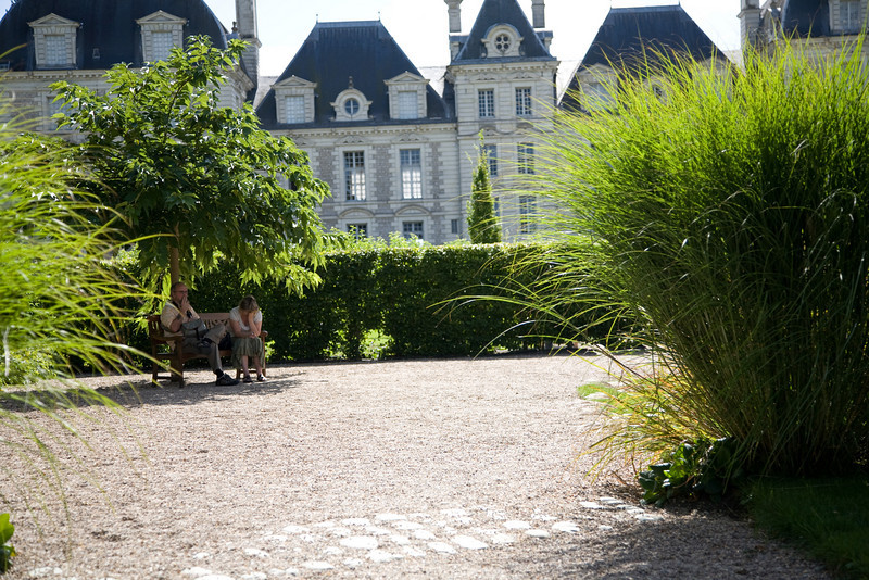chateau in the loire valley france
