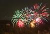 Bastille Day Fireworks over Najac