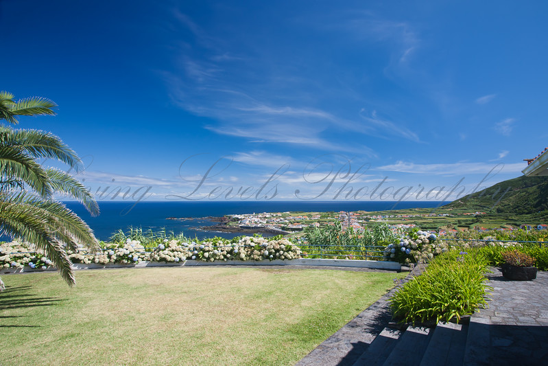 Triopical Paradise - View over Mosteiros on Sao Miguel Island in the Azores