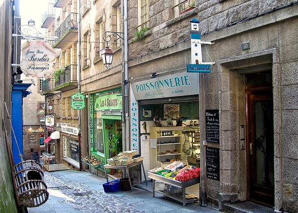 Street in San Malo
