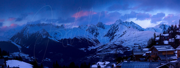 Panorama of Le Grand Mont