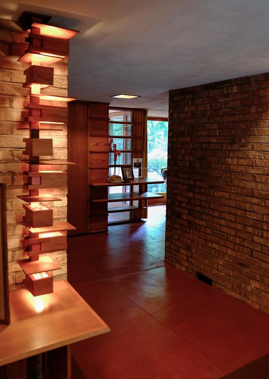 Frank Lloyd Wright's Laurent House, Rockford, Illinois