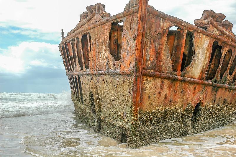 Fraser Island, Maheno wreck