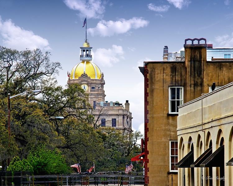 Gold Dome of Savannah