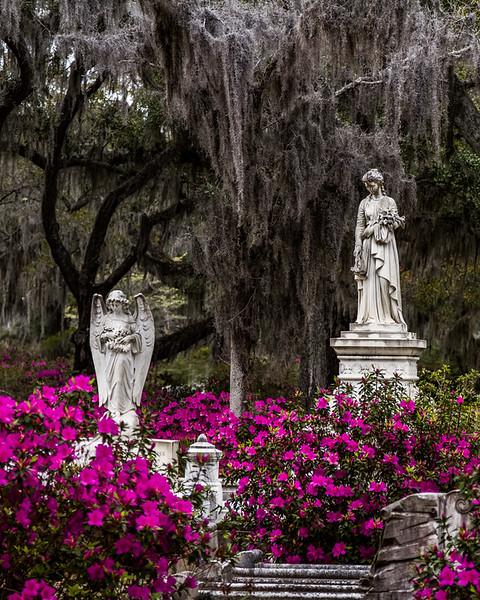 Bonaventure Statues