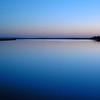 Blue Light at Sunset