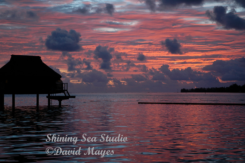 Sunrise at Moorea