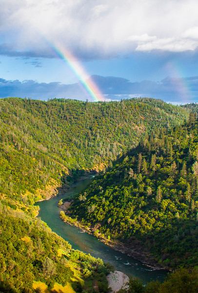 Double Rainbow-American River