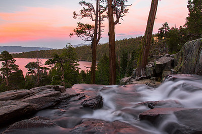 Lower Eagle Falls Sunset