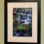 """Sorry, this one is sold.  Wood Framed 12"""" x 16"""" - Frame  is 14"""" x 18""""   Print is 7.5"""" x 11.25"""""""