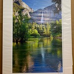 "28"" x 38"" Fine Art Matted print. Print size is 20"" x 30"".  Arctic white acid-free mat with an acid-free foam core backing in a crystal clear sleeve. These are ready to be framed. Normally $450 each, SALE $75 each.  I can provide professionally-finished custom framing as well."