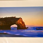 "Natural Bridges. 16"" x 12"" Fine Art Matted print. Print size is 11.25"" x 7.5"". Arctic white acid-free mat with an acid-free foam core backing in a crystal clear sleeve. These are ready to be framed. Normally $150, SALE $19 or 3 for $50.  I can provide framing as well."