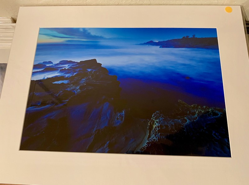 """18"""" x 24"""" Fine Art Matted print. Print size is 12.5"""" x 18.5"""". Arctic white acid-free mat with an acid-free foam core backing in a crystal clear sleeve. These are ready to be framed. Normally $225 each, SALE $39 each or 3 for $99.  I can provide professionally-finished custom framing as well."""