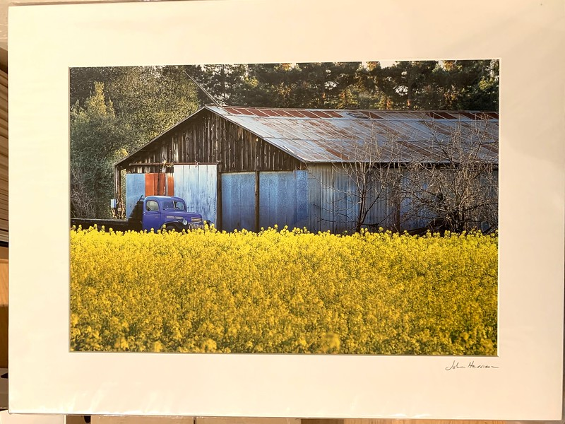 "Grant Road Farm. 18"" x 24"" Fine Art Matted print. Print size is 12.5"" x 18.5"". Arctic white acid-free mat with an acid-free foam core backing. These are ready to be framed. Normally $225 each, SALE $39 each or 3 for $99.  I can provide framing as well."
